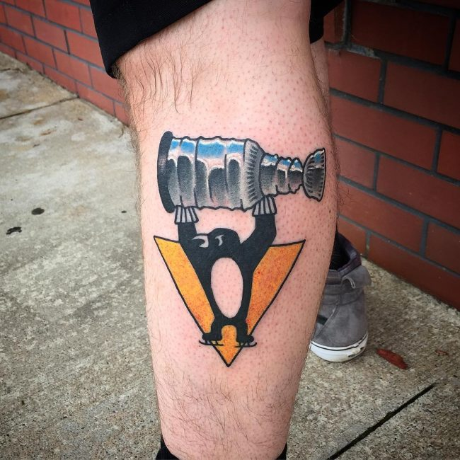 Penguin Tattoo 62