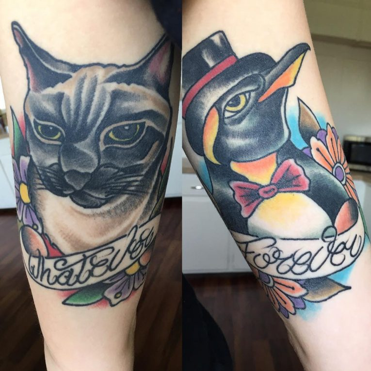 Penguin Tattoo 68