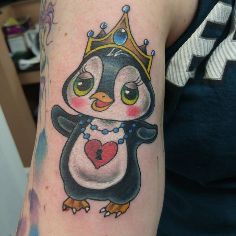 Penguin Tattoo 70
