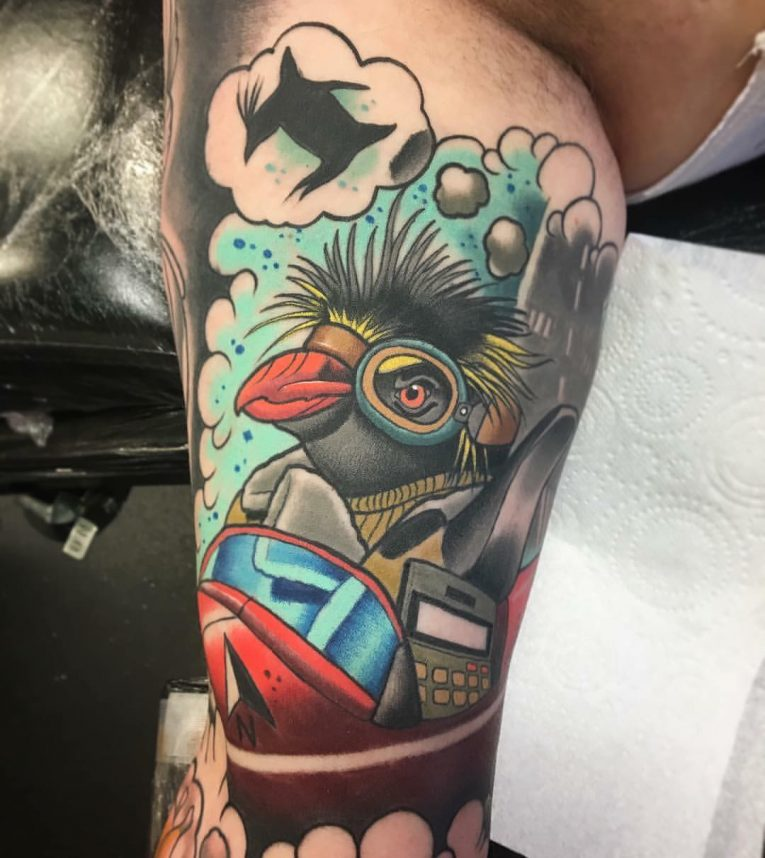 Penguin Tattoo 75