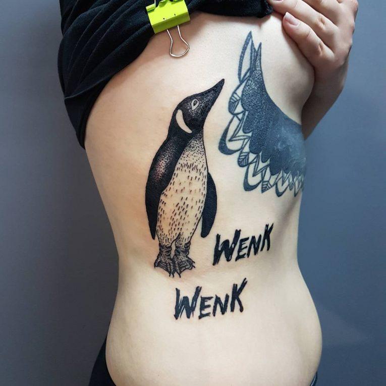 Penguin Tattoo 76