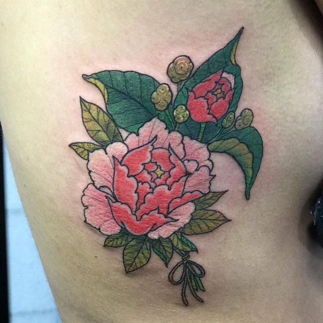 Peony Tattoo 66