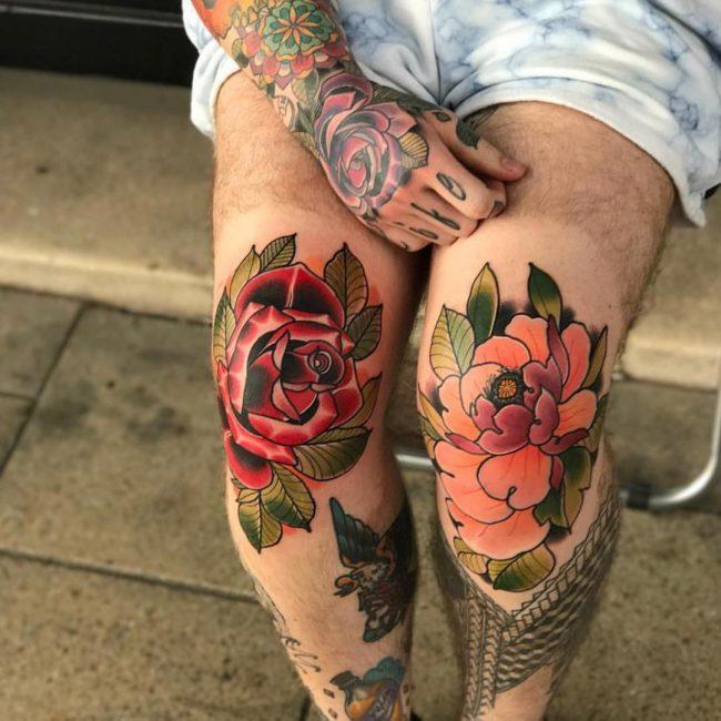 Peony Tattoo 68