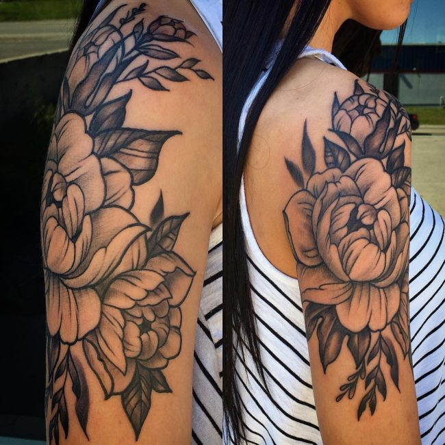 Peony Tattoo 73