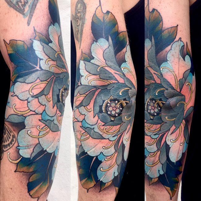 Peony Tattoo 74