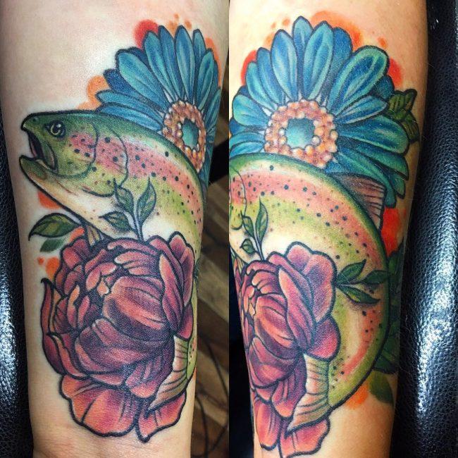 Peony Tattoo 75