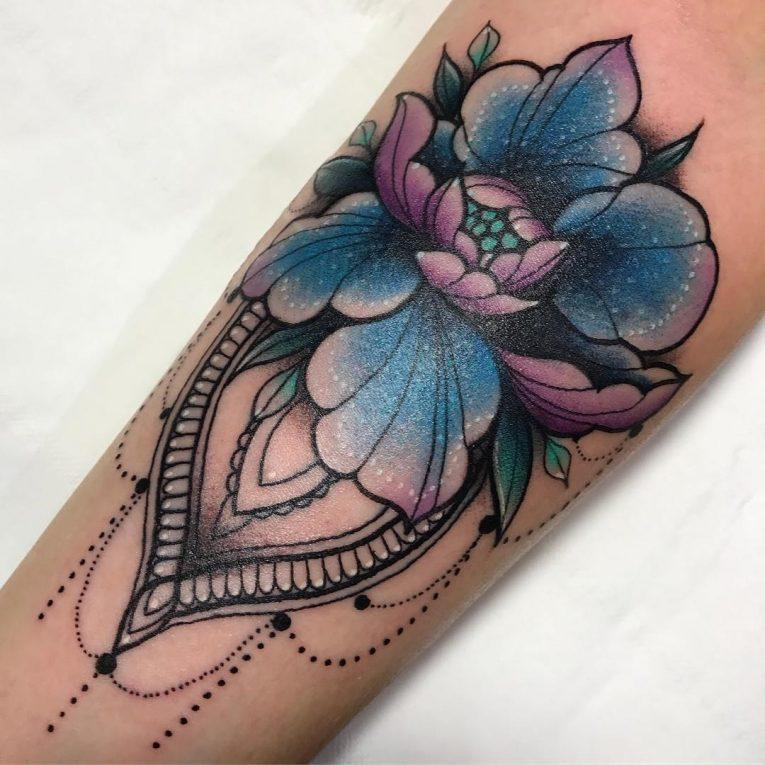 Peony Tattoo 77