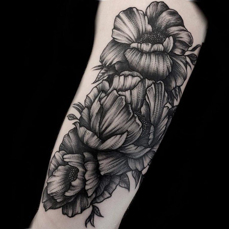 Peony Tattoo 79