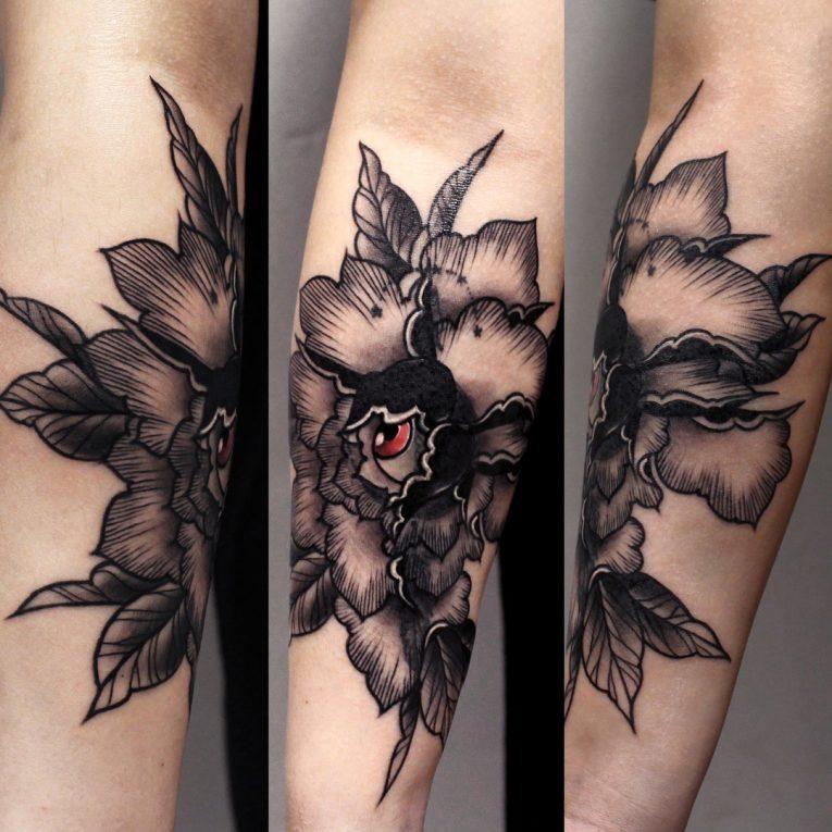 Peony Tattoo 81