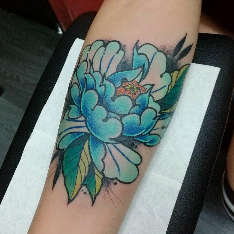Peony Tattoo 83