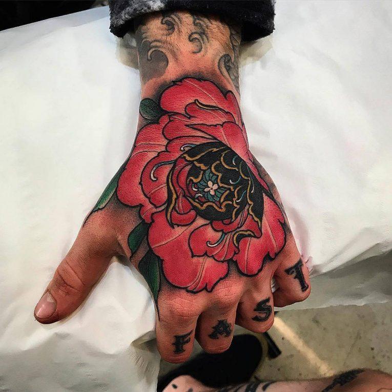 Peony Tattoo 84