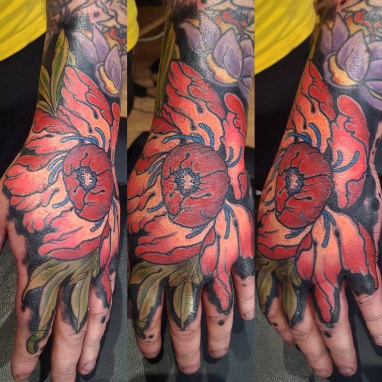 Peony Tattoo 85