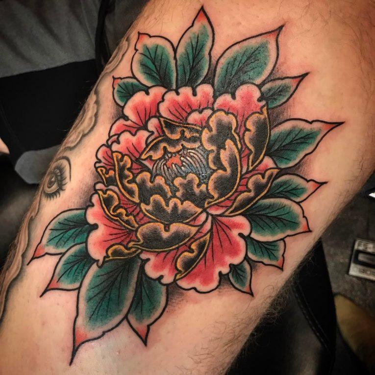 Peony Tattoo 87
