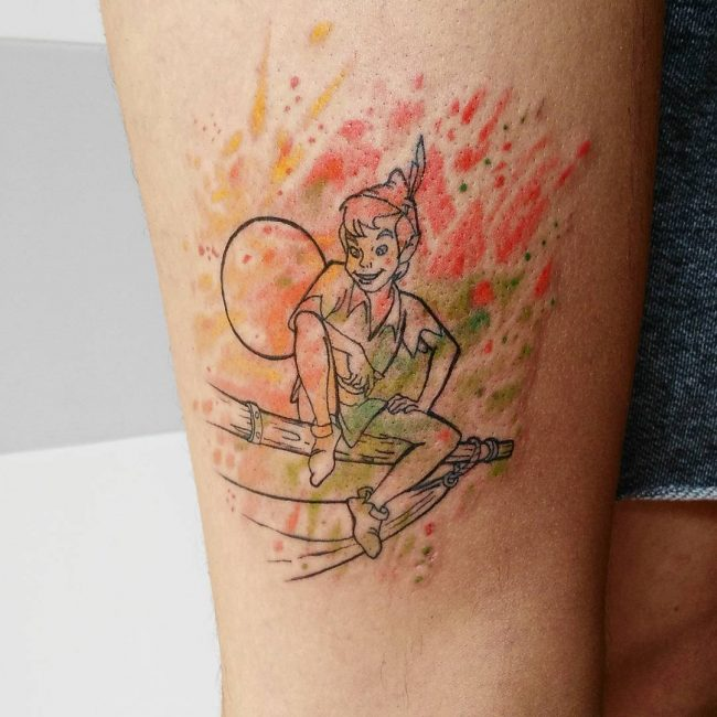 Peter Pan Tattoo 53