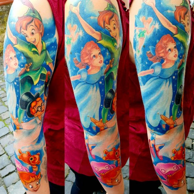 Peter Pan Tattoo 58
