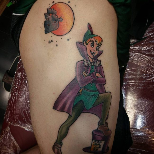 Peter Pan Tattoo 59
