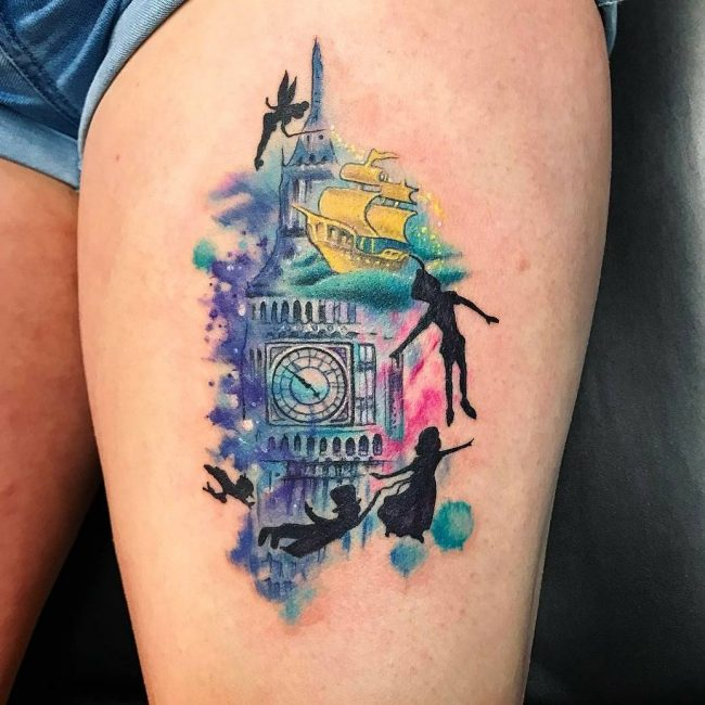 Peter Pan Tattoo 60