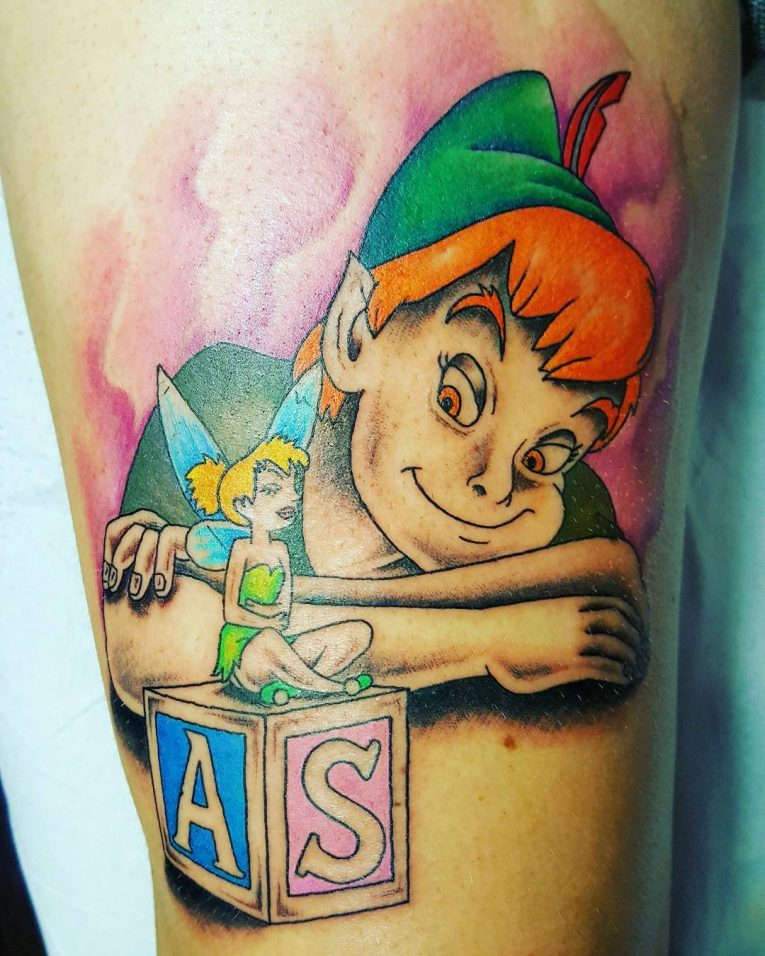 Peter Pan Tattoo 63