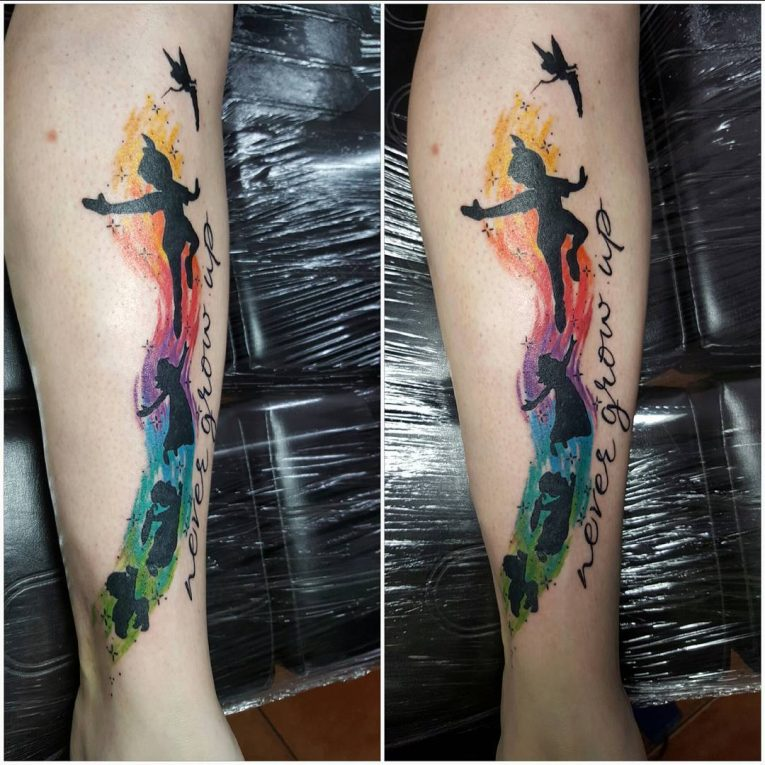 Peter Pan Tattoo 67