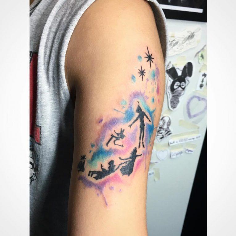 Peter Pan Tattoo 70