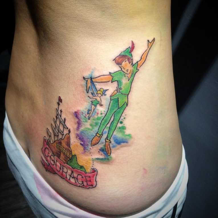 Peter Pan Tattoo 72