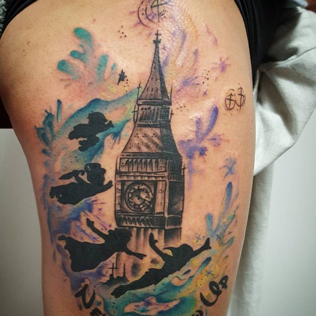 Peter Pan Tattoo_