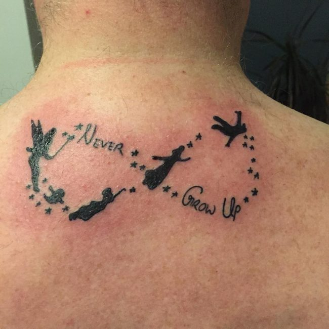 Peter Pan Tattoo_