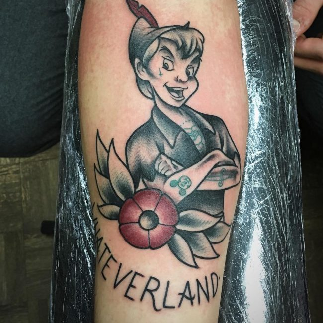 Peter Pan Tattoo