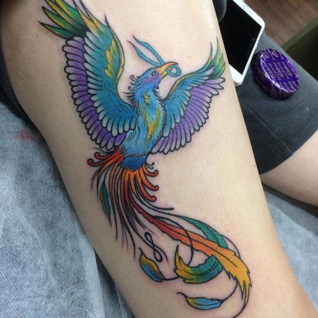 Phoenix Tattoo 61