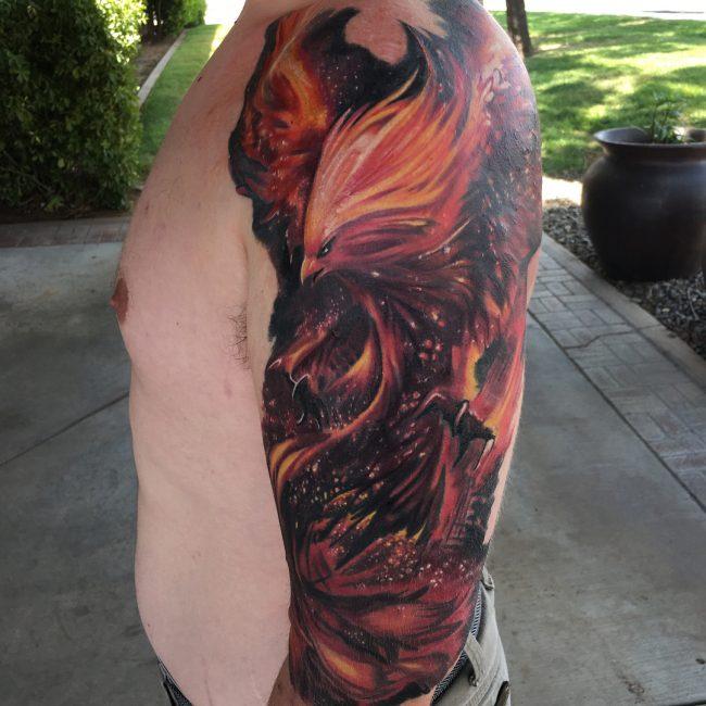 Phoenix Tattoo 68