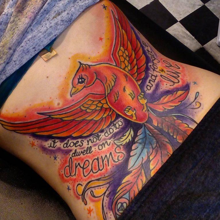 Phoenix Tattoo 73