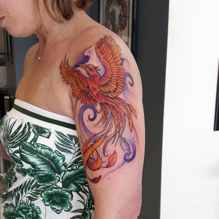 Phoenix Tattoo 75