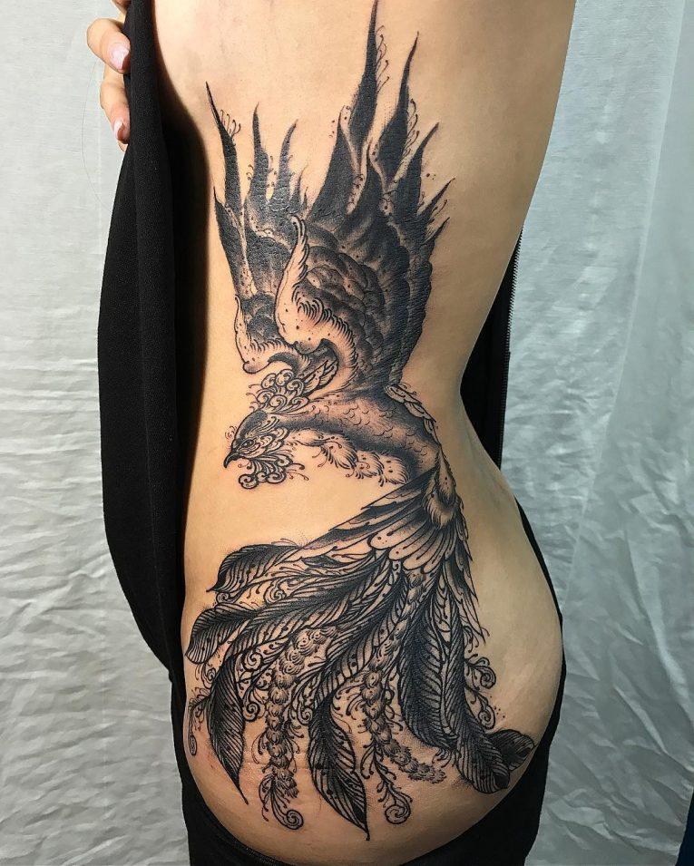 Phoenix Tattoo 79
