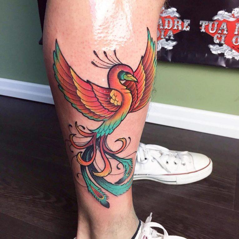 Phoenix Tattoo 80