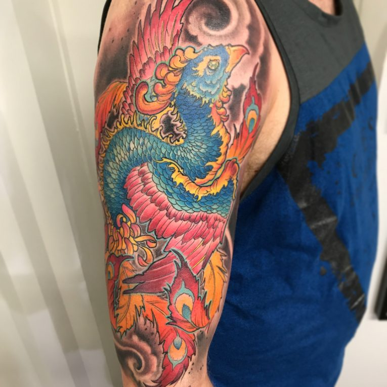 Phoenix Tattoo 81