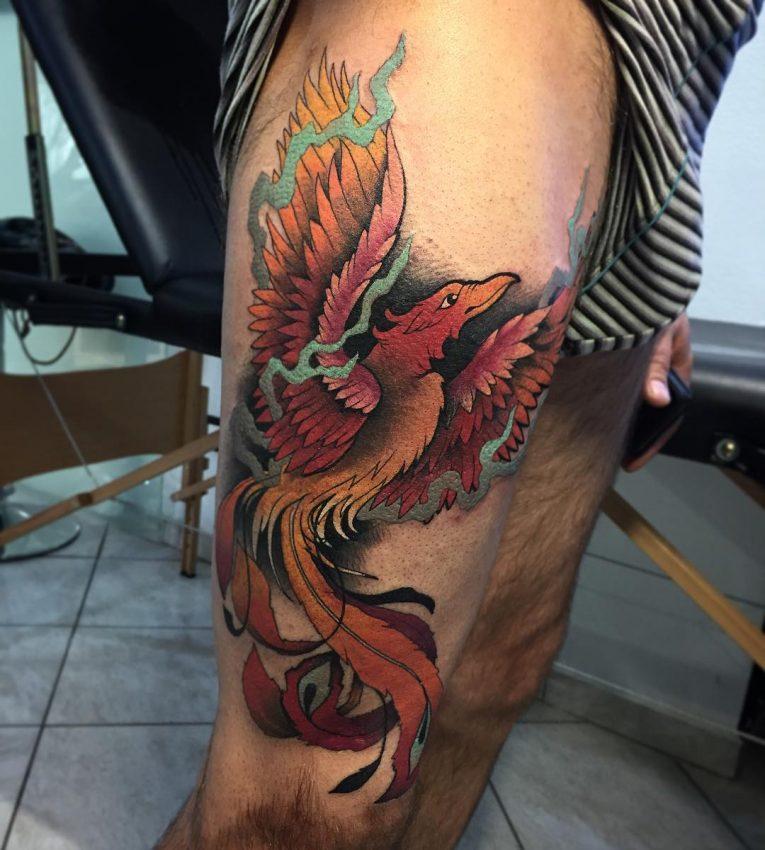 Phoenix Tattoo 82