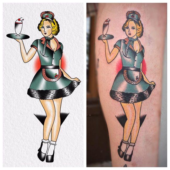PinUp Tattoo 72