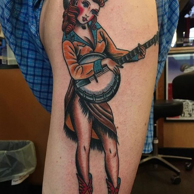 PinUp Tattoo 74