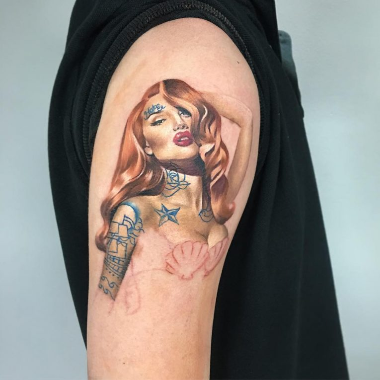 PinUp Tattoo 82