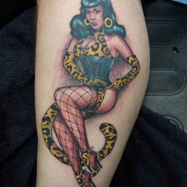 Super 90+ Best PinUp Tattoo Girl Designs & Meanings - (Add Style in 2018) &WW34