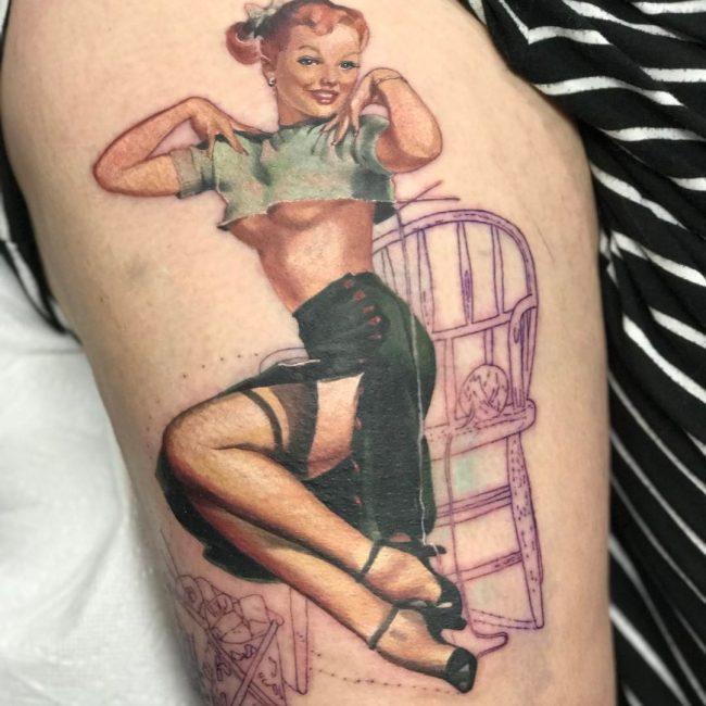 PinUp Tattoo_