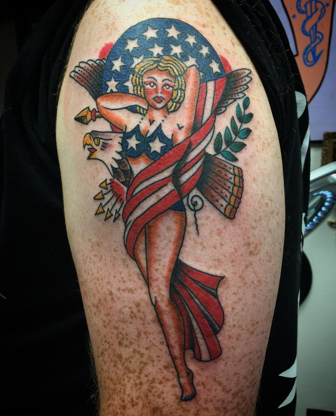 90+ Best PinUp Tattoo Girl Designs & Meanings - (Add Style ...