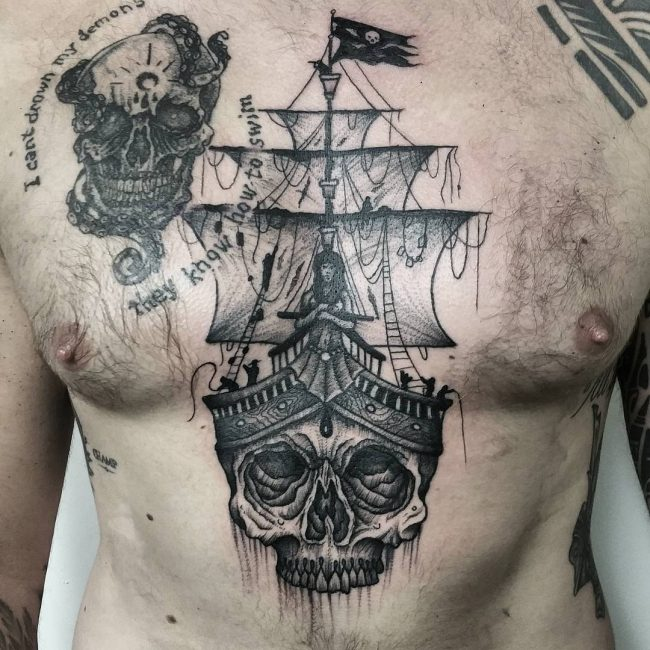 Pirate Tattoo 56