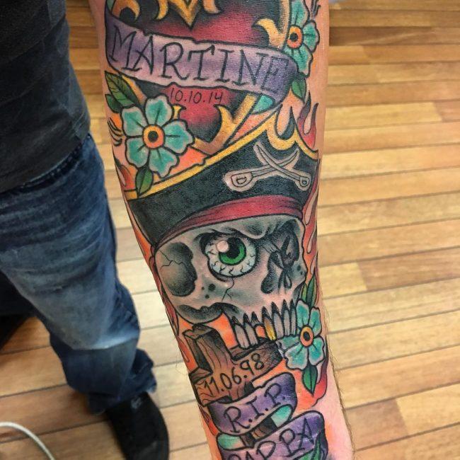 Pirate Tattoo 59