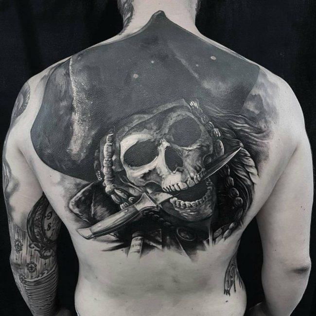 Pirate Tattoo 62