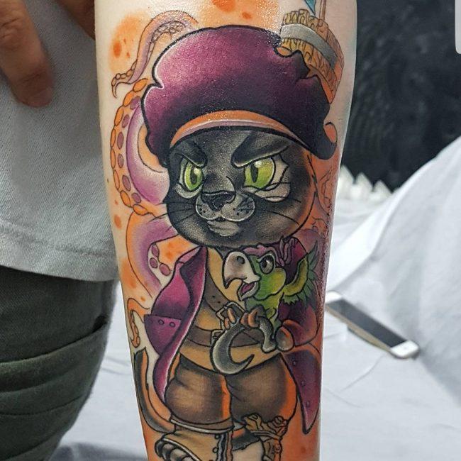 Pirate Tattoo 64