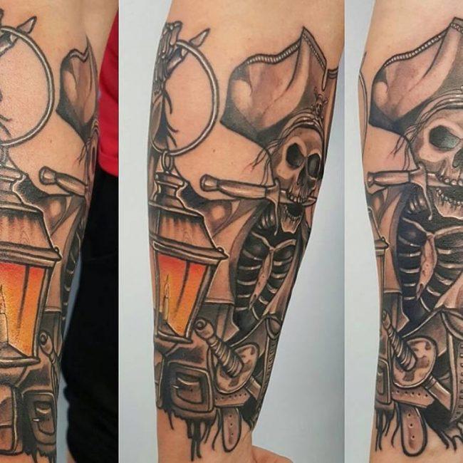 Pirate Tattoo 65