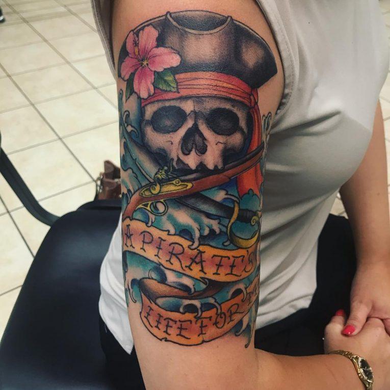 Pirate Tattoo 67
