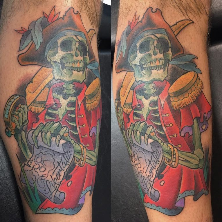 Pirate Tattoo 70