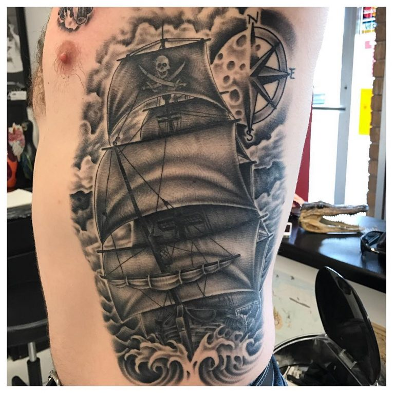 Pirate Tattoo 75